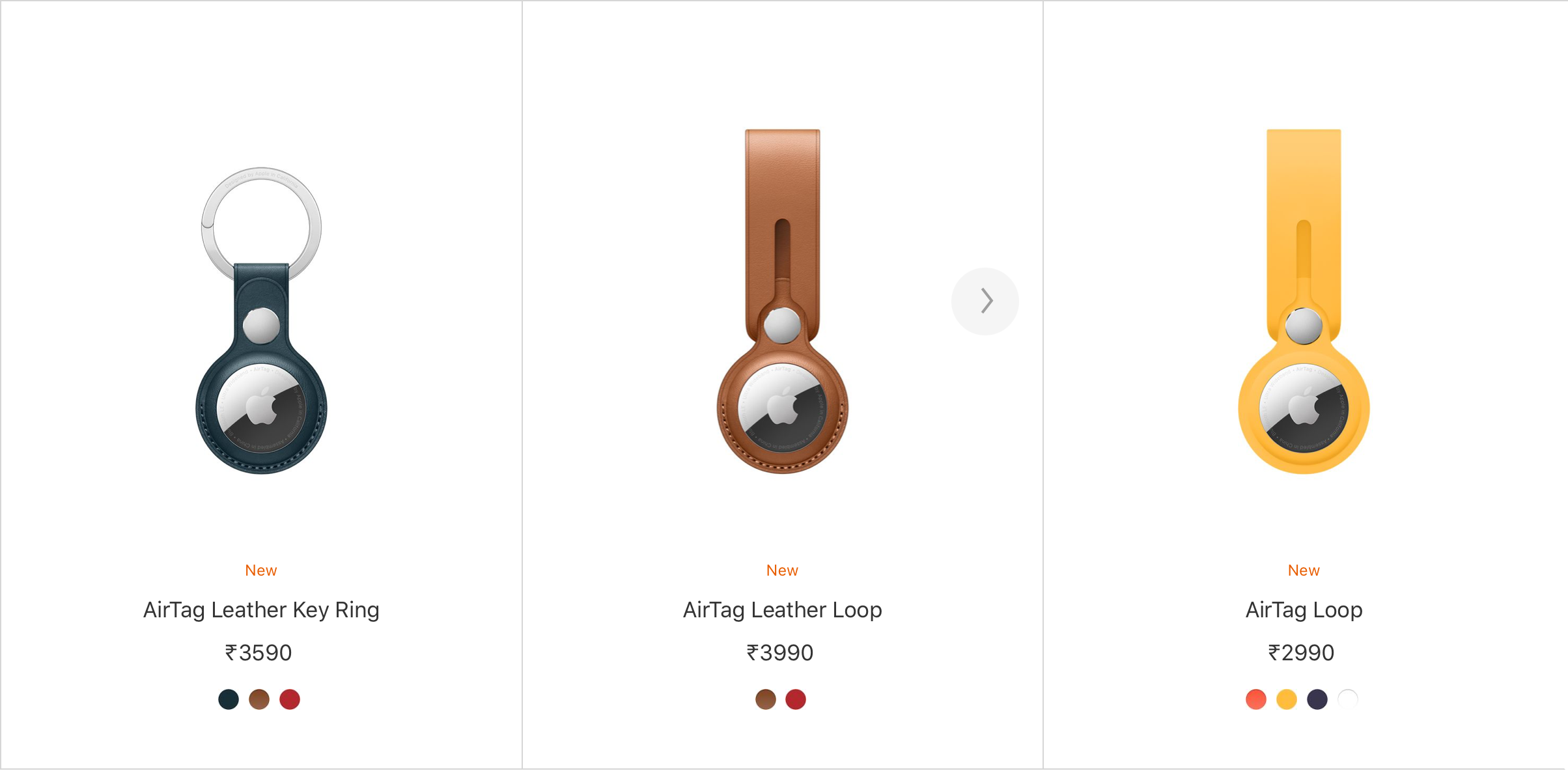 AirTags Accessories pricing in India